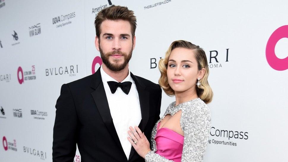 Liam Hemsworth vorbeste despre clipele traite alaturi de Miley Cyrus